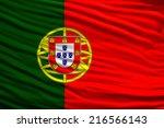 flag of portugal | Shutterstock . vector #216566143