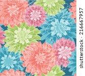 Vintage Pastel Floral Pattern