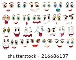 illustration of different... | Shutterstock .eps vector #216686137