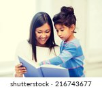 family  children  education ... | Shutterstock . vector #216743677
