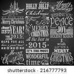 Hand Drawn Christmas Symbols O...