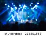 De Focused Concert Crowd.