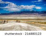 Salt Flats On The Edge Of The...