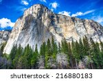El Capitan Towers Above The...