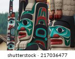 Totem Pole By North American...