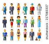 Cartoon Vector Flat People...