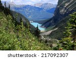Постер, плакат: Lake Louise and the