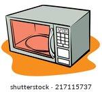 an illustration of a retro... | Shutterstock .eps vector #217115737