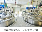 pharmaceutical factory... | Shutterstock . vector #217121023
