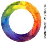 Watercolor  Color Wheel ...