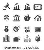 business and finance icon | Shutterstock .eps vector #217204237