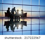 group of business people... | Shutterstock . vector #217222567