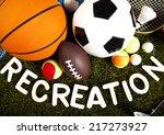 recreation  sports equipment  | Shutterstock . vector #217273927