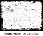 grunge frame  | Shutterstock .eps vector #217310653