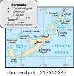 bermuda territory map | Shutterstock .eps vector #217352347