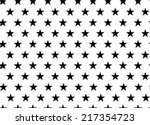 seamless pattern with stars | Shutterstock .eps vector #217354723