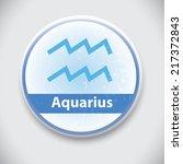 horoscope sign aquarius vector... | Shutterstock .eps vector #217372843