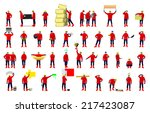 workers vector illustration | Shutterstock .eps vector #217423087