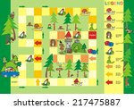 game  way to the tower | Shutterstock .eps vector #217475887