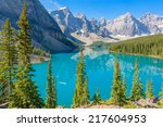 Majestic Mountain Lake In...