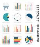 set of infographics elements | Shutterstock .eps vector #217621153