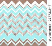 seamless wave zigzag chevron...   Shutterstock .eps vector #217721947
