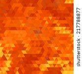 vibrant bright orange abstract... | Shutterstock .eps vector #217788877
