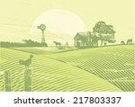 organic farming  vector
