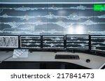 control room closeup   modern... | Shutterstock . vector #217841473