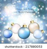 christmas abstract background | Shutterstock .eps vector #217880053