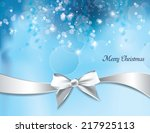 christmas background. abstract... | Shutterstock .eps vector #217925113