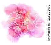 Decorative Floral Illustration...