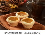 Mini Pumpkin Pies Or Tarts Wit...