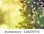 christmas tree | Shutterstock . vector #218270773