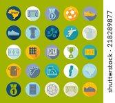 football  soccer infographic | Shutterstock .eps vector #218289877