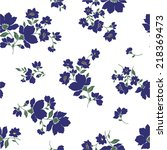 flower pattern | Shutterstock .eps vector #218369473