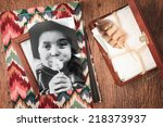 take me back. memories hidden... | Shutterstock . vector #218373937