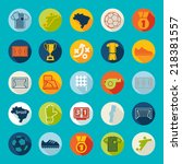 football  soccer infographic | Shutterstock . vector #218381557