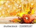 Autumn Arrangement With Wine ...