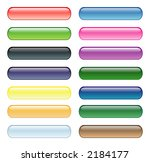 various colorful glass aqua... | Shutterstock .eps vector #2184177
