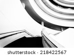 staircase in the national... | Shutterstock . vector #218422567