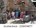 nesebar  bulgaria   august 29 ... | Shutterstock . vector #218454877