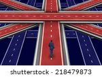 british plan and the future of... | Shutterstock . vector #218479873