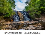 Waterfall At Chewacla State...