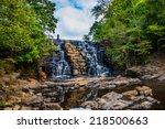 Waterfall At Chewacla State...