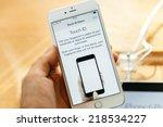 paris  france   september 20 ...   Shutterstock . vector #218534227