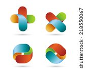 abstract shapes  eps10 vector | Shutterstock .eps vector #218550067