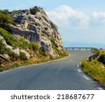 Road Winding Through The...