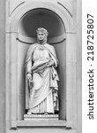 Постер, плакат: Statue of Giovanni Boccaccio