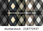 seamless argyle pattern.... | Shutterstock .eps vector #218772937